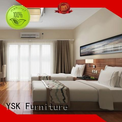 YSK Furniture customized hotel lobby benches quality modern bedroom