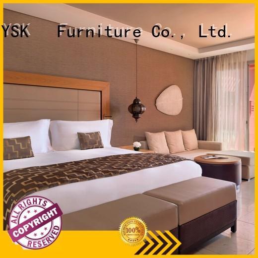 YSK Furniture wooden apartment bedroom furniture factory price bedroom decoration