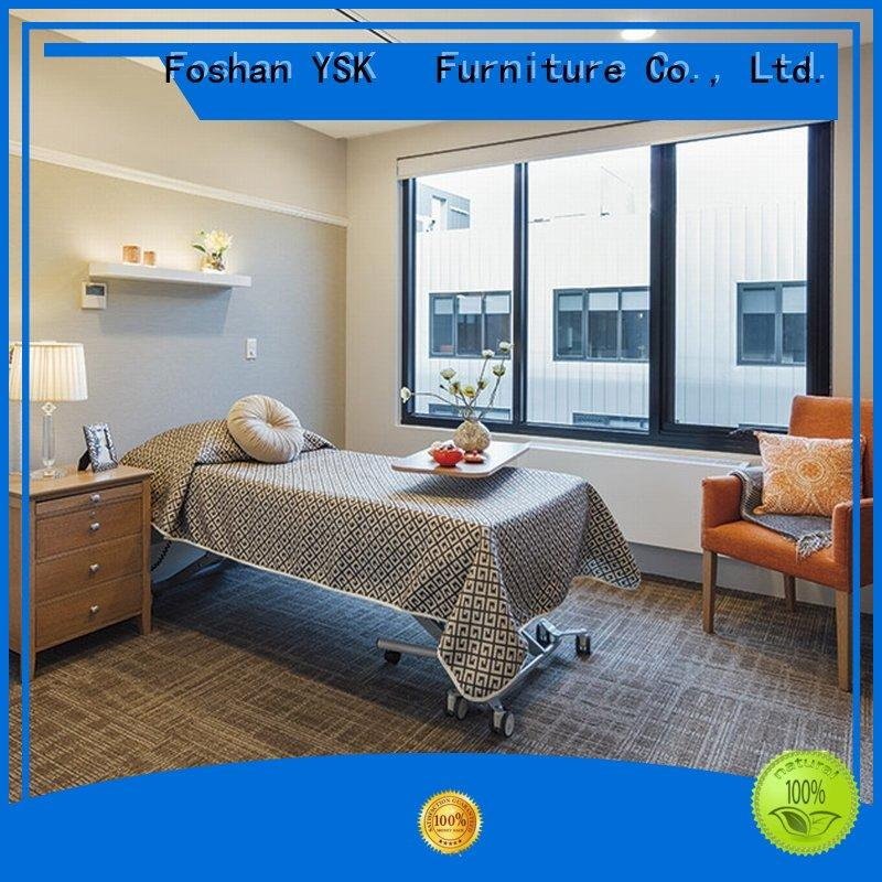 YSK Furniture wooden senior living furniture homes facility community