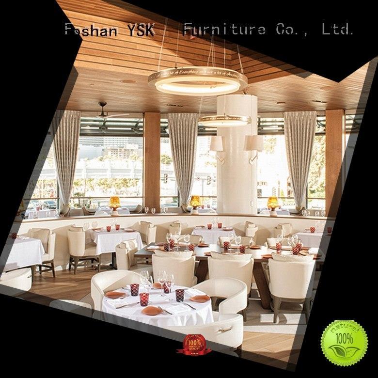 YSK Furniture contemporary restaurant furniture design interior five star hotel