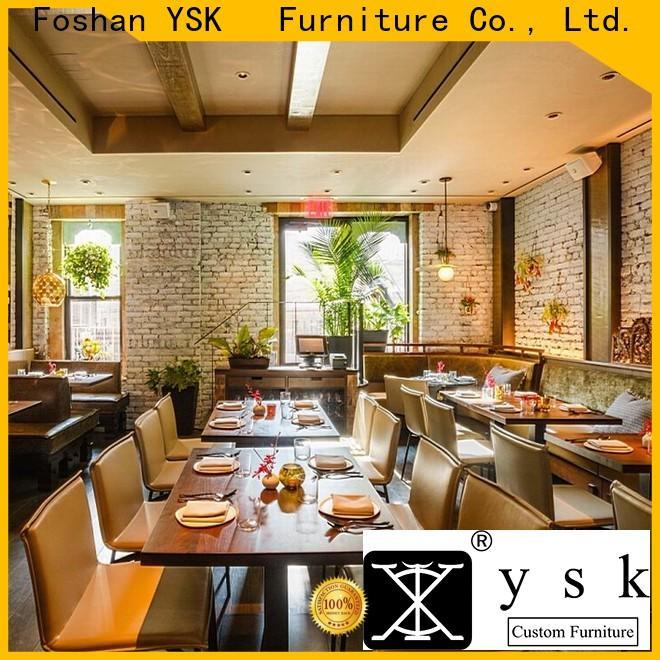 YSK Furniture commercial modern restaurant furniture interior five star hotel