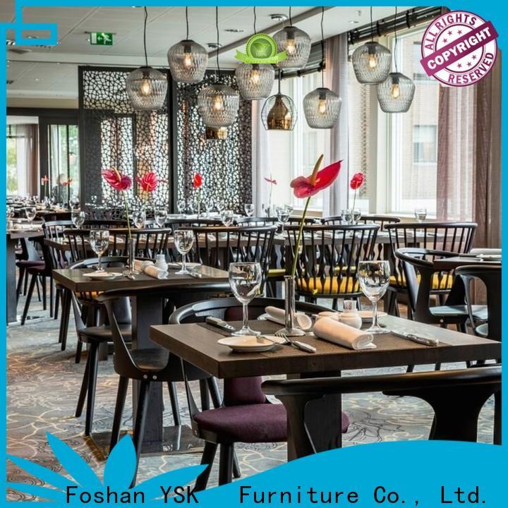 YSK Furniture high grade custom restaurant furniture interior five star hotel