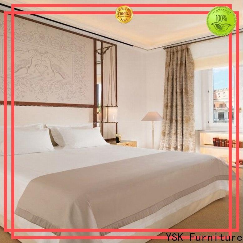 YSK Furniture customized hotel furnishings oem modern bedroom