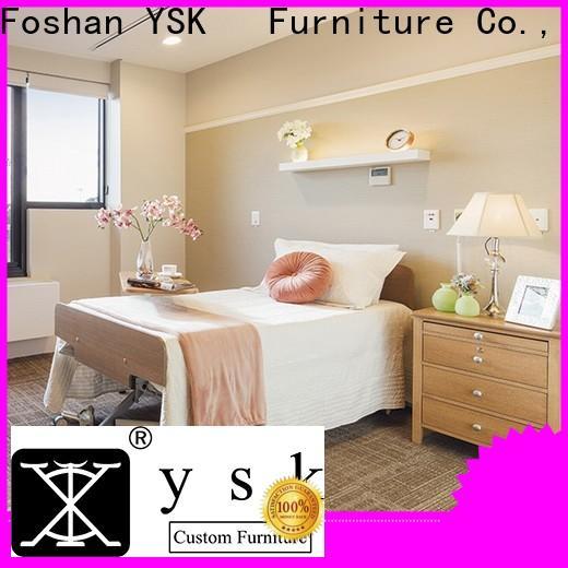 YSK Furniture aged care senior living furniture specialist room decoration