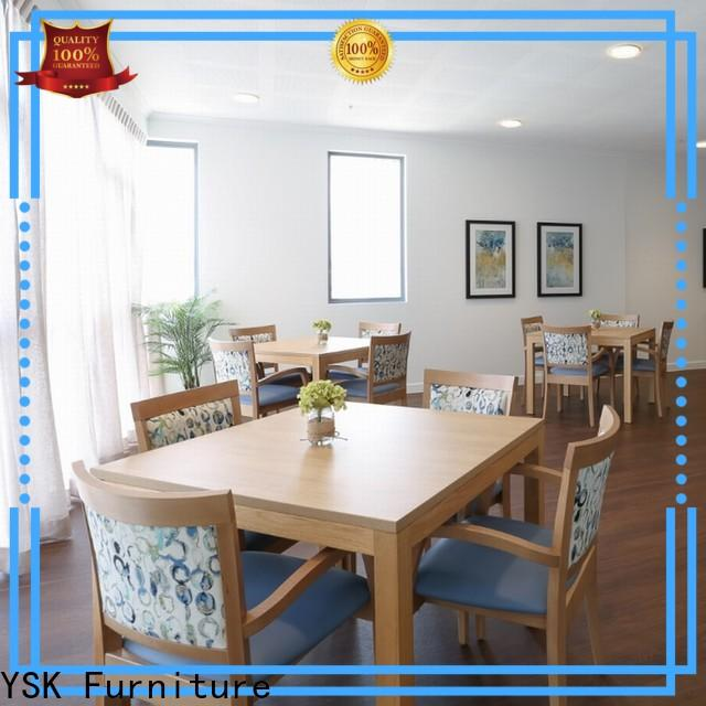 YSK Furniture professional retirement home furniture expert facility community