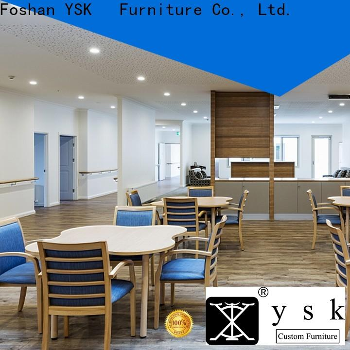 YSK Furniture wooden assisted living furniture retirement facility community