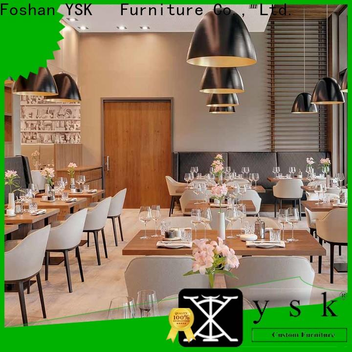 YSK Furniture customization restaurant furniture design luxury five star hotel