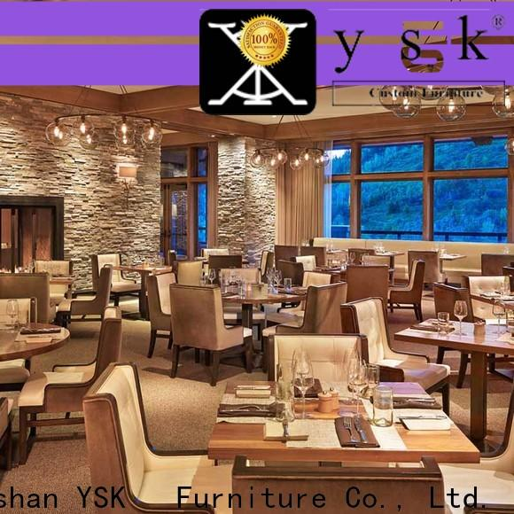 YSK Furniture commercial contract restaurant furniture high quality five star hotel