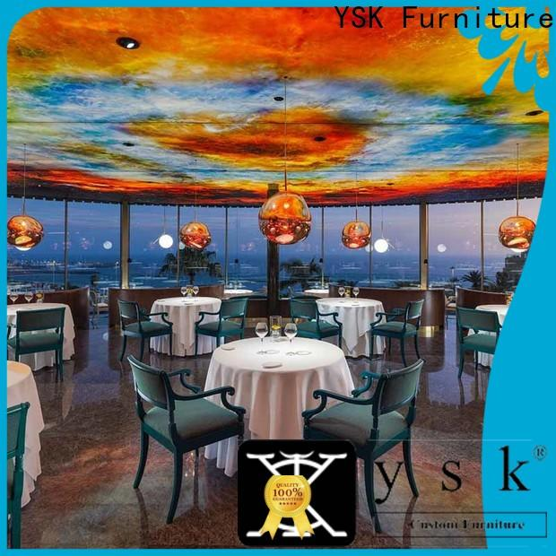 YSK Furniture upholstery restaurant furniture design luxury dining furniture