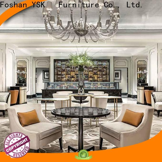 YSK Furniture interior clubhouse furniture modern for room