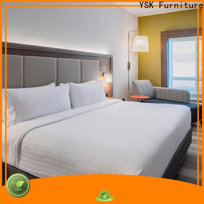 YSK Furniture contemporary used hotel furniture wooden modern bedroom
