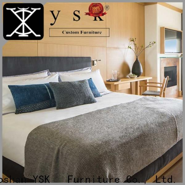 YSK Furniture business best hotel furniture suppliers master hotels room