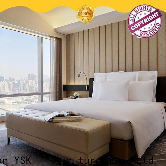 YSK Furniture customized hotel motel furniture suppliers wooden hotels solutions