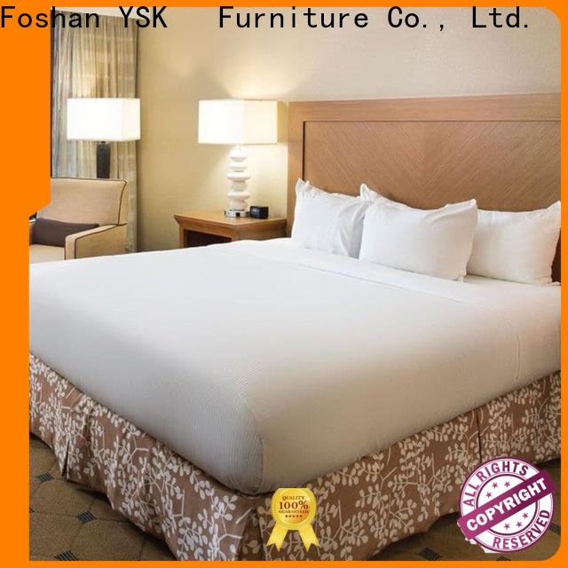 YSK Furniture customized 5 star hotel furniture oem hotels room