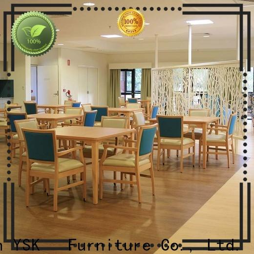 comfortable furniture for assisted living facilities factory price specialist room decoration