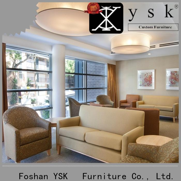 YSK Furniture low cost assisted living furniture retirement room decoration