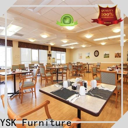 YSK Furniture wooden senior living furniture quality facility community