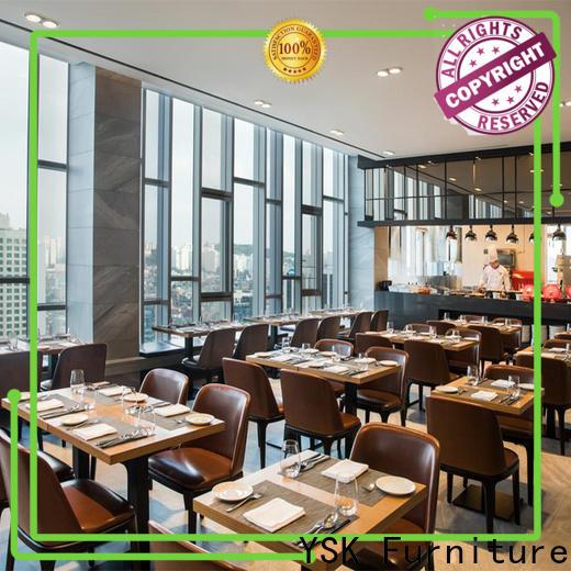 YSK Furniture restaurant furniture design high quality restaurant furniture