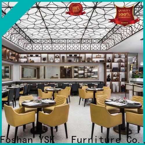 YSK Furniture commercial custom restaurant furniture high quality dining furniture