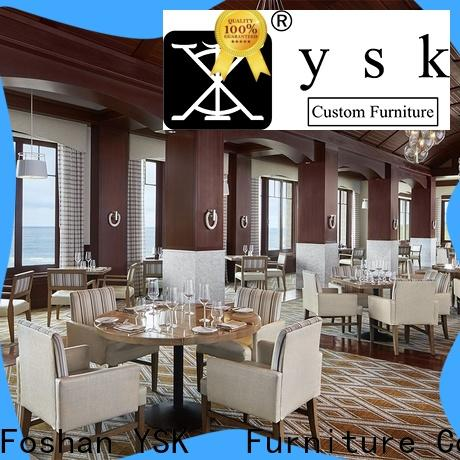 YSK Furniture modern style luxury restaurant furniture high quality restaurant furniture
