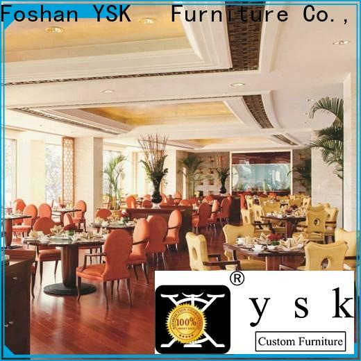 YSK Furniture contract cruise restaurant furniture design interior ship furniture