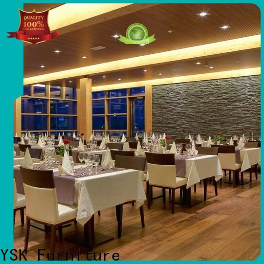 YSK Furniture restaurant furniture stylish made five star hotel