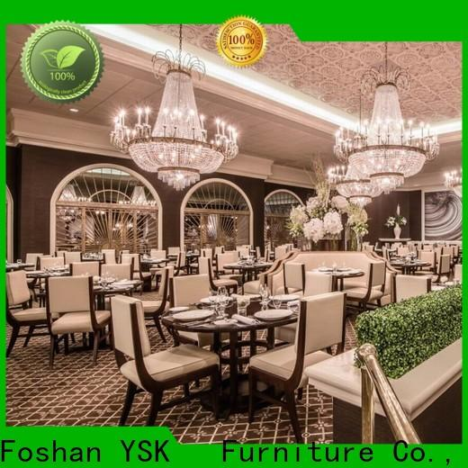 YSK Furniture high-end restaurant furniture design high quality five star hotel