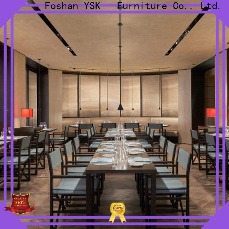 YSK Furniture contemporary modern restaurant furniture high quality five star hotel