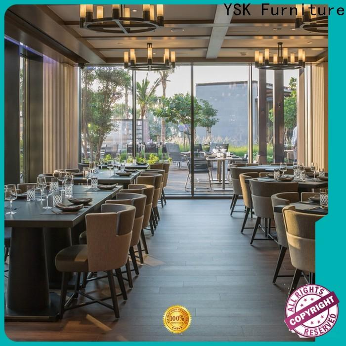 YSK Furniture high grade restaurant furniture interior five star hotel
