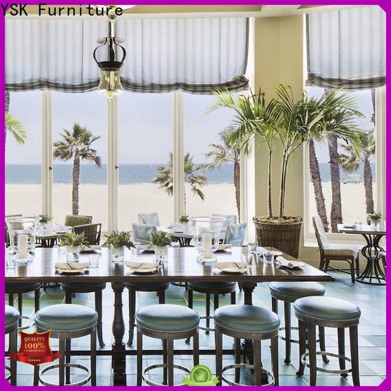 YSK Furniture contract cruise restaurant furniture luxury dining furniture