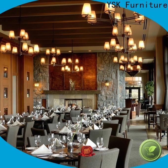 YSK Furniture restaurant furniture luxury five star hotel
