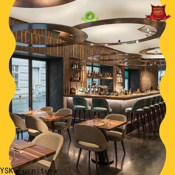 YSK Furniture Chinese restaurant restaurant furniture design plywood five star hotel