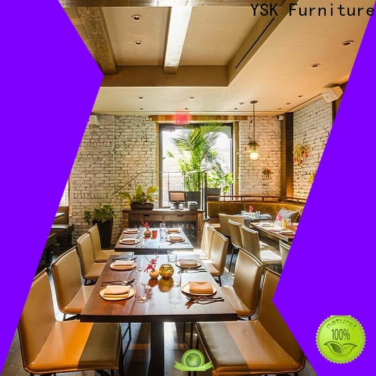 YSK Furniture contemporary contract restaurant furniture high quality ship furniture